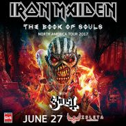 Concert Review: Iron Maiden – Book Of Souls 2017 Tour