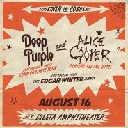 Concert Review:  Deep Purple's Long Goodbye Tour, Featuring Alice Cooper and Edgar Winter Band