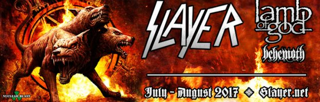 Concert Review: Behemoth, Lamb of God, and Slayer – Summer 2017 Tour
