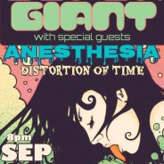 Concert Review: SuperGiant with Anesthesia and Distortion of Time – Moonlight Lounge, Sept. 23